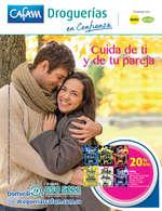 Ofertas de Droguerías Cafam, Revista Droguerías Cafam - Cuida de ti y de tu pareja. Septiembre 2017