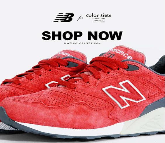 Ofertas de Color Siete, Tenis New Balance