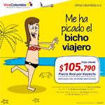 Ofertas de Viva Colombia, Me ha picado el bicho viajero