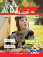 Ofertas de Droguería Olímpica, Catálogo Vivir Mejor - La fiesta de los niños
