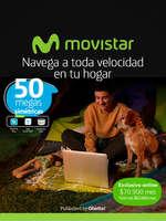Ofertas de Movistar, Movistar fibra óptica