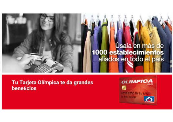 Ofertas de Super Tiendas Olímpica, Tarjeta Olímpica