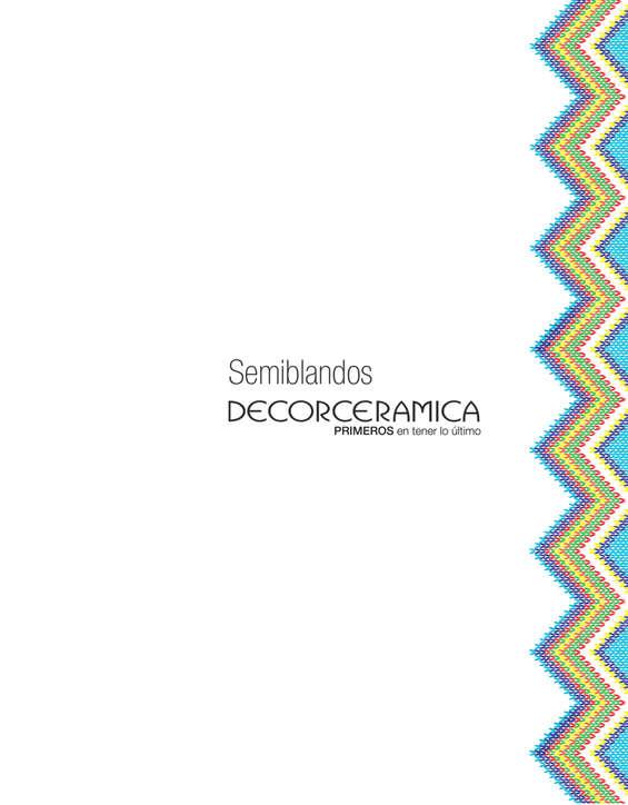 Ofertas de Decorceramica, Catálogo - Semiblandos