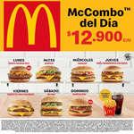 Ofertas de Mc Donald's, Mc Combo del Día