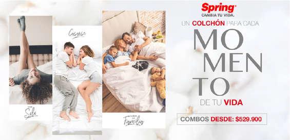 Ofertas de Colchones Spring, Un colchón para cada momento de tu vida