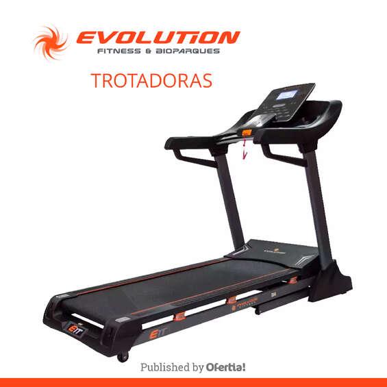 Ofertas de Evolution Fitness, Trotadoras