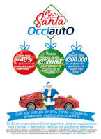 Ofertas de Banco de Occidente, Plan Santa Occiauto