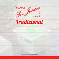 Helados San Jerónimo tradicional