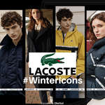Ofertas de Lacoste, #WinterIcons