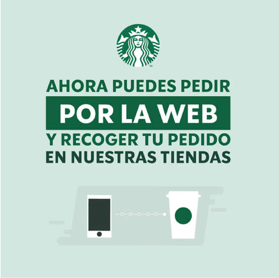 Ofertas de Starbucks, Compra Online