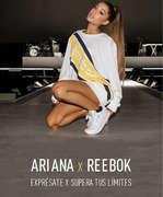 Ofertas de Reebok, Ariana x Reebok - Exprésate y supera tus límites