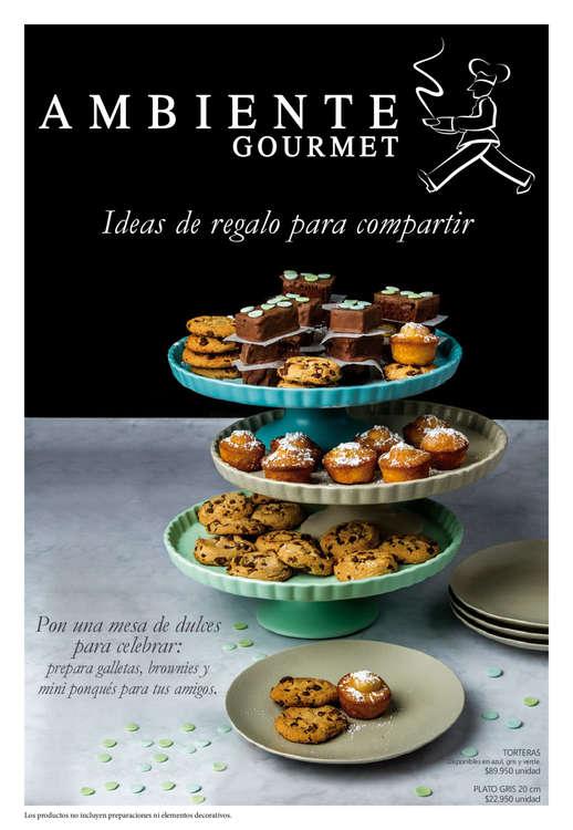 Ofertas de Ambiente Gourmet, Catálogo - Ideas de regalo para compartir