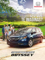 Ofertas de Honda Autos, Honda Odyssey
