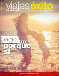 Viajes Éxito en revista - Viaja porque sí
