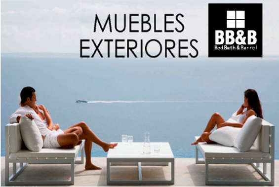 Ofertas de Bed Bath And Barrel, Muebles Exteriores