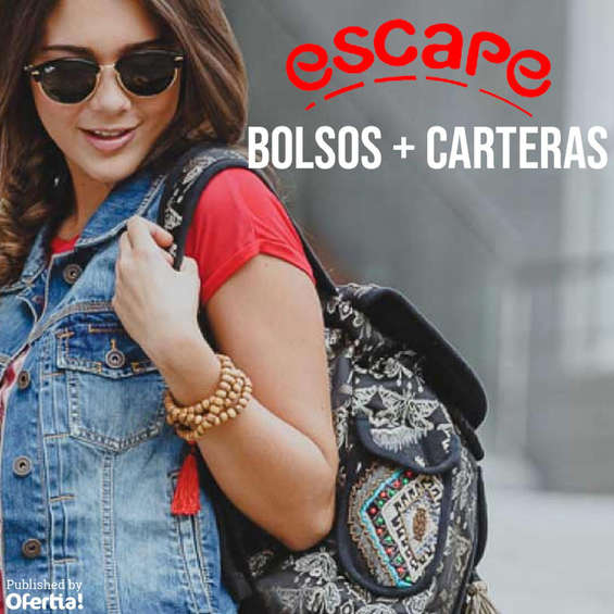 Ofertas de Escape, Bolsos + Carteras
