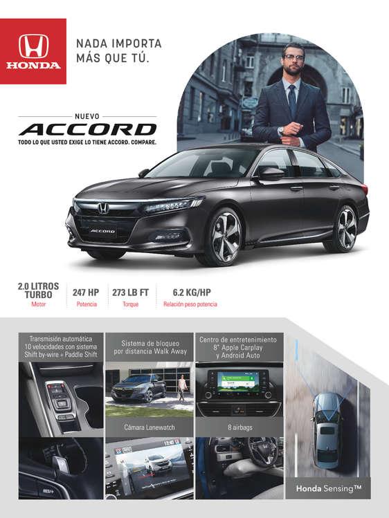 Ofertas de Honda Autos, ACCORD