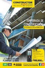 Temporada de Construcción - Cartagena