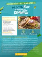 Ofertas de Kibo, Hamburguesa con proteína de soya