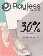 Ofertas de Payless, Catálogo Styles to Love. Hasta 30% de descuento - Cartagena