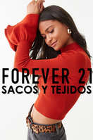 Ofertas de Forever 21, Sacos y Tejidos