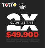 Ofertas de Totto, 2X Camisetas